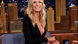 Heidi Klum Tries To Bluff Jimmy Fallon Playing 'Box Of Lies' On The Tonight Show