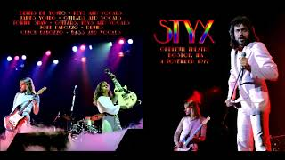 Styx The Grand Illusion Live Orpheum Theater November 11th 1977
