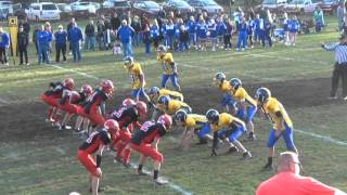 preview picture of video 'PART 3 Belvidere Wildcats 2012 WCMFL Championship game PART 3'