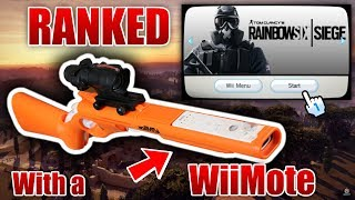 Download PLAYING RANKED R6 SIEGE WITH A Wii REMOTE Youtube