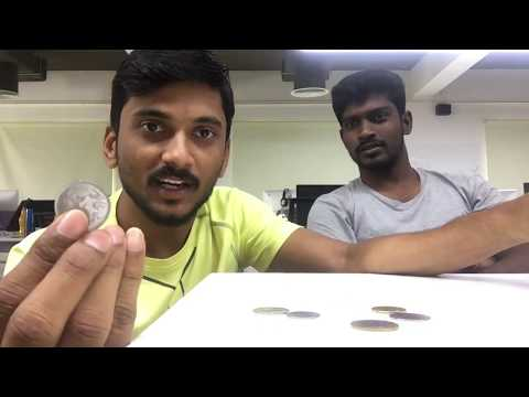 Coin Magic tricks in tamil using simple science