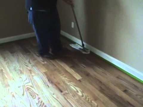 Wooden Floor Wax Removal Process