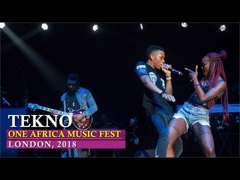 Tekno Splendid Performance at One Africa Music Fest, London 2018 [ Nigerian entertainment ]