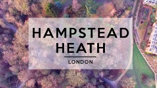 FLYING A DRONE OVER HAMPSTEAD HEATH