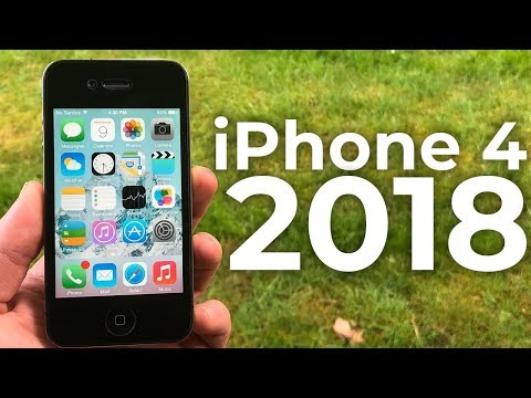 Using the iPhone 4 in 2018 - Review