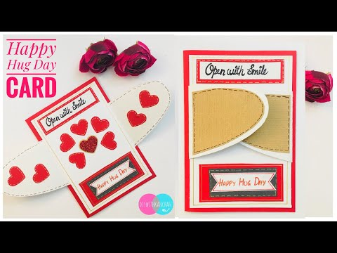 Hug Day Card Tutorial