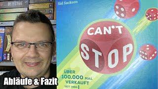 Can't Stop (Franjos) - Neuauflage in kleiner handlicher Box - Zockerspiel und Reisespiel ab 7 Jahren