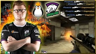 Snatchie AWP Ace! VP Revenge Against Kinguin! To The Grand Finals!