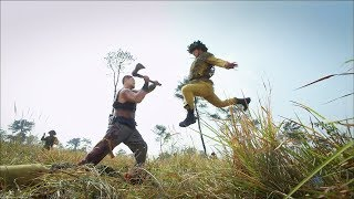 1 Chinese hunter VS 14 Japanese soldiers