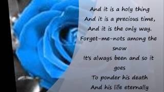 Christy Moore:Lyrics:Bright Blue Rose