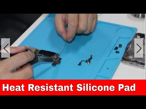 Silicone Heat Resistance Pad for SMD Rework and Soldering