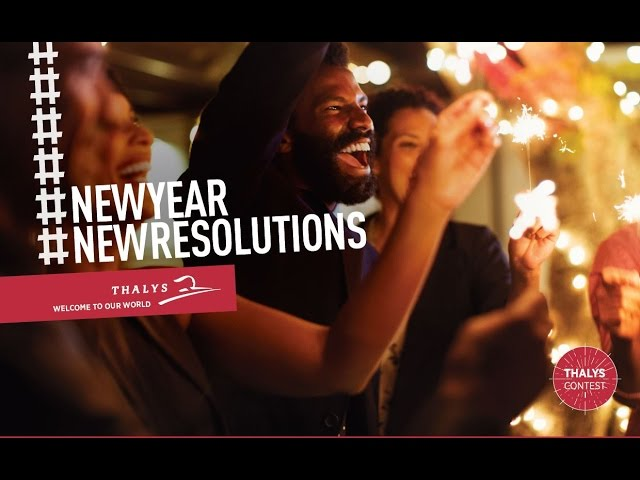 Thalys New Year's surprise
