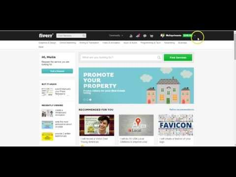 Video Cara Mendapatkan Klien Dari Negara Besar di Fiverr