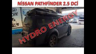 Nissan pathfinder hidrojen yakıt sistem montajı