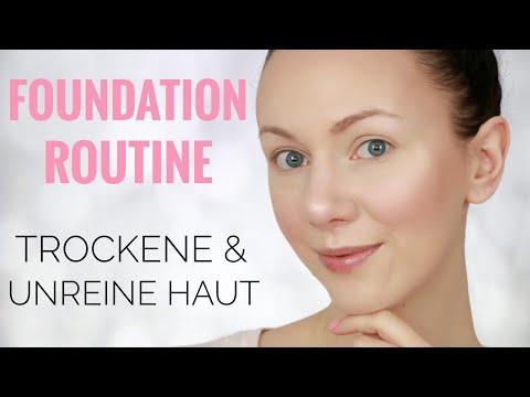 Foundation Routine | Trockene & Unreine Haut