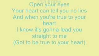 True To Your Heart-Raven Symone (HQ+Lyrics)
