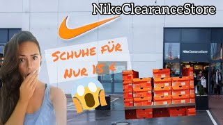 Nike Clearance Store in Kerpen / lohnt es sich? Oktober 2019 Herbst   Mary Jano