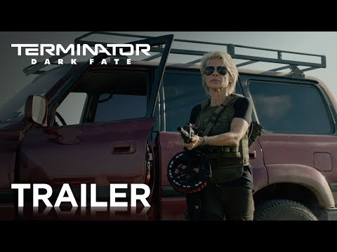 Video trailer för TERMINATOR DARK FATE | OFFICIAL HD TRAILER #1 | 2019
