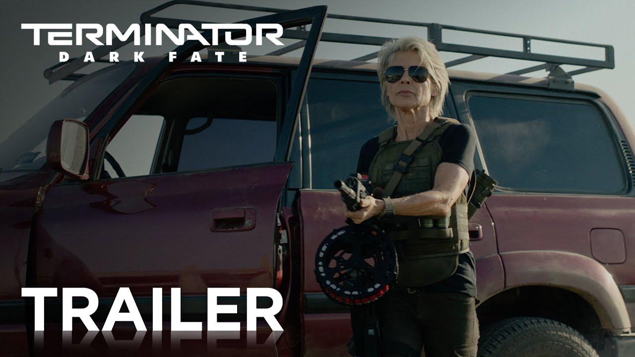 Video trailer för TERMINATOR DARK FATE | OFFICIAL HD TRAILER #1 | 2019
