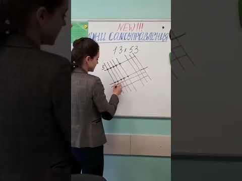 Лайфхак. Математические хитрости. Японский способ умножения двузначных чисел.