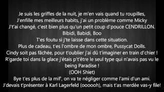 Vitaa ft. Maître Gims _ Game Over LYRICS (PAROLES)