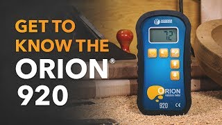 Orion 920 Moisture Meter: Get to Know and How to Use