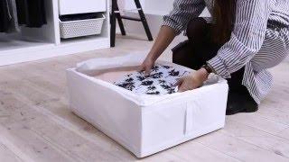 IKEA Ideas:  How To Organize Your Wardrobe