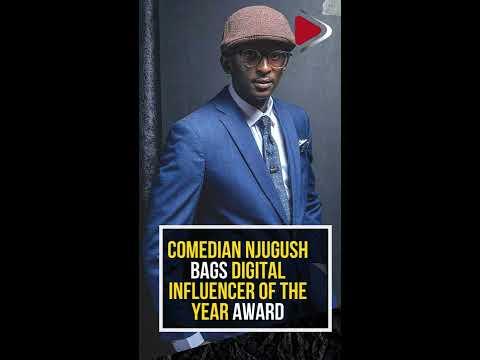 Comedian Njugush bags Digital Influencer of the Year award