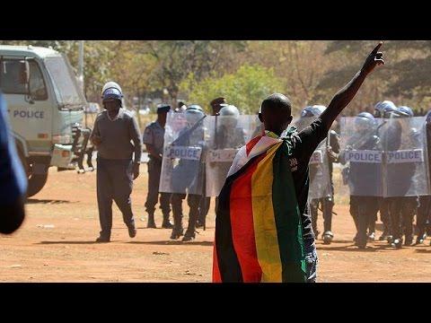 Επεισοδιακή αντικυβερνητική διαδήλωση στη Ζιμπάμπουε