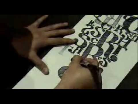 Typography Landscape | Hand Drawn Awesomeness
