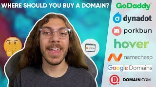 Where should you buy a domain name? (2020) | 7 Options Compared