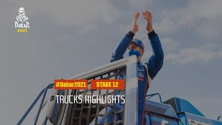 DAKAR2021 - Stage 12 - Yanbu / Jeddah - Truck Highlights