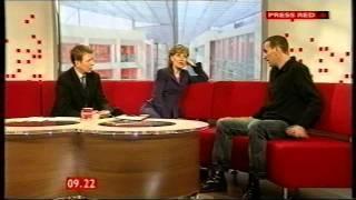 BBC Breakfast: première interview en tant qu'interprète du Docteur! (2004)