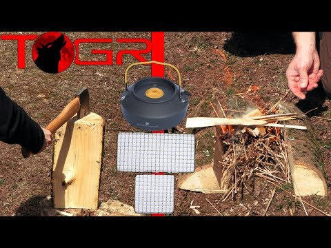 Bushcraft! – Expedition Research Kettle and Bushcraft Grill Set – Review