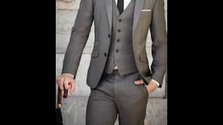 Mens Suits Grey