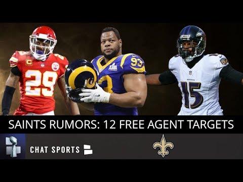Saints Rumors: 12 Free Agents Saints Should Target Ft. Ndamukong Suh, Eric Berry & Michael Crabtree