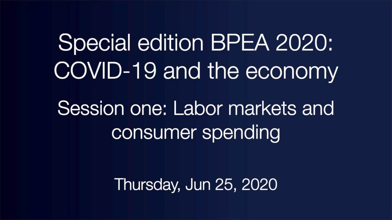 Session one: Labor markets and consumer spending