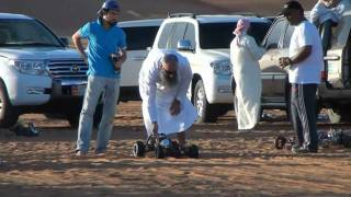 preview picture of video 'Al Ain RC Drag race - Modified engines بطولة العين للسيارات اللاسلكية'