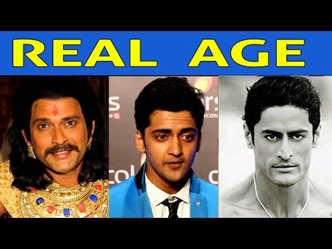 Real Age Of Chakravartin Ashoka Samrat Lead Characters