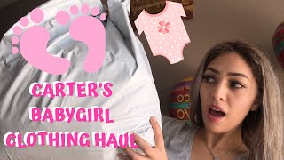 Baby Girl Clothing Haul || Carter's 2020 Spring/Summer