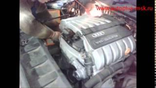 Замена катализаторов Audi Q7 3.6 на пламегасители