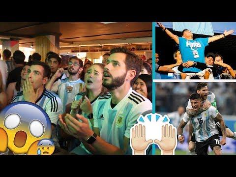 ARGENTINA 2-1 NIGERIA. WARNING: Insane Fan REACTIONS...