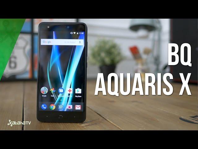BQ Aquaris X, análisis review en español