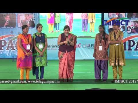 Fear | Padma Pothukuchi | TELUGU IMPACT HYD SEPT 2015