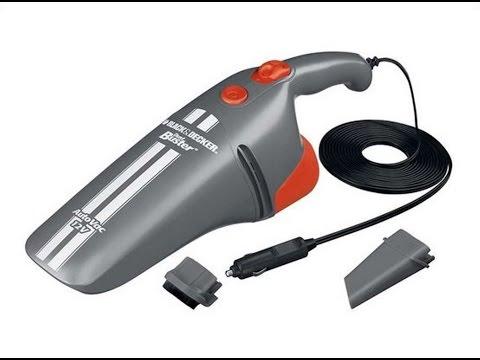 Black & Decker AV1205 Grey DC Car Vacuum Cleaner Review
