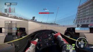 Project CARS 2 Texas Indycar PS4Pro ThrustmasterT300RS