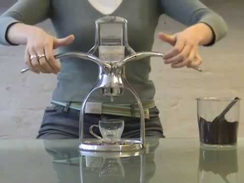 You Tube Video about the ROK - Espresso machine