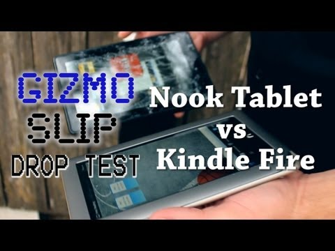 Nook Tablet Is Better Than Kindle Fire (But Only If You're Clumsy)