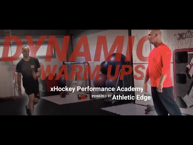 Dynamic Warmup | Bryce Salvador & Ben Shear |  xHockey Performance Academy