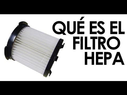 Filtro HEPA: qué es y para qué sirve